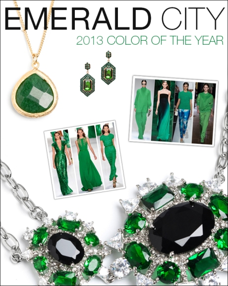 EMERALD: 2013 COLOR OR THE YEAR